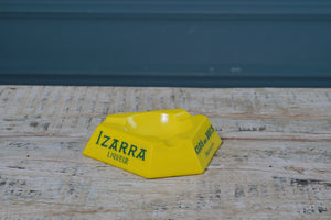 1970's Bright Yellow Ceramic Ashtray