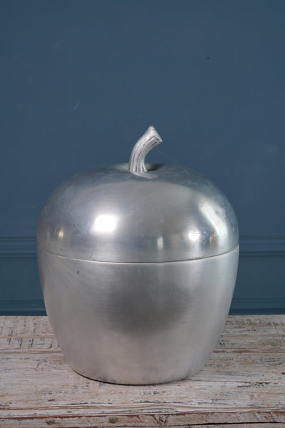 1970's Silver Apple Italian Ice Bucket