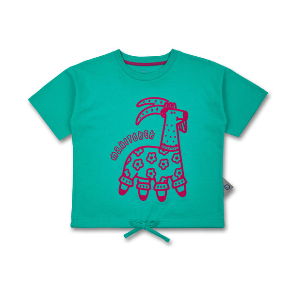 SS20_Kinder T-Shirt Animals Scoop (Bio-Bauwolle (kbA))