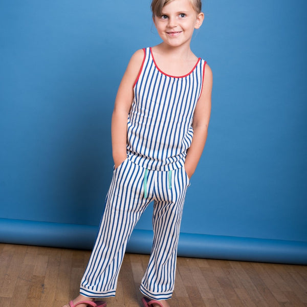 Kids Woven striped Top (organic cotton) - Manitober