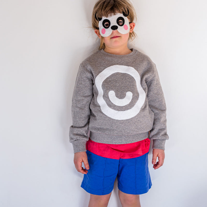 Kids Smiley Sweater (organic cotton) - Manitober