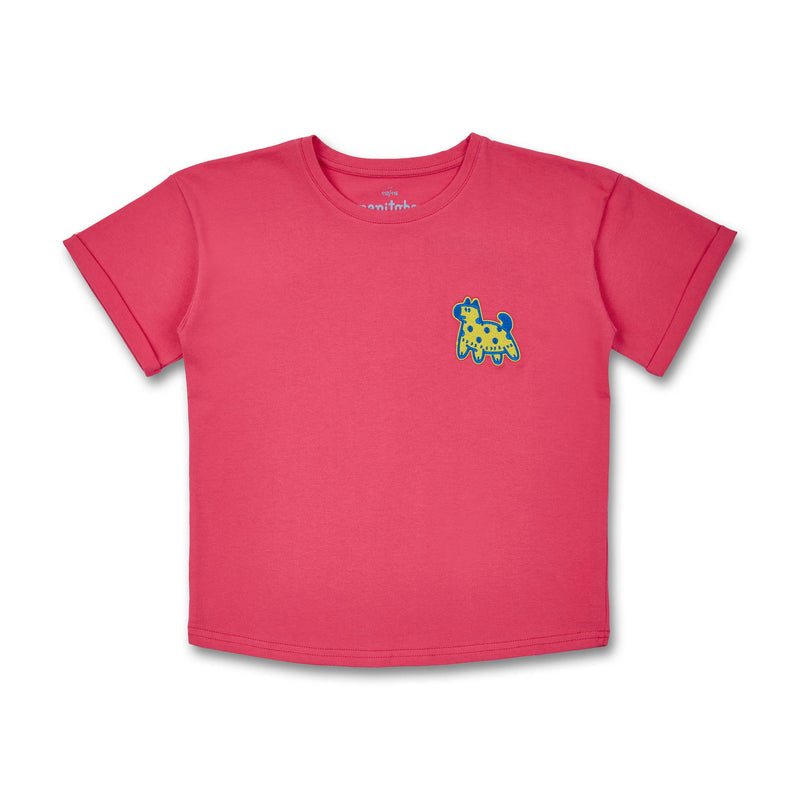 Grown-Ups T-Shirt Animals (organic cotton) - Manitober