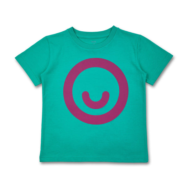 Grown-ups T-Shirt Smiley (organic cotton)