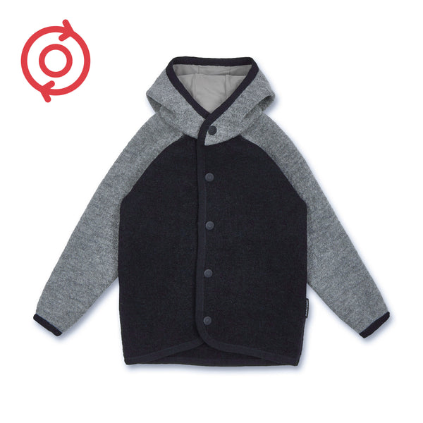 *Refurbished* Kids boiled wool jacket (Organic Wool)