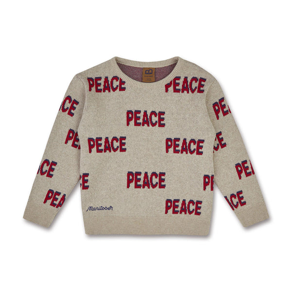 Kinder Peace Pullover (Bio-Baumwolle)