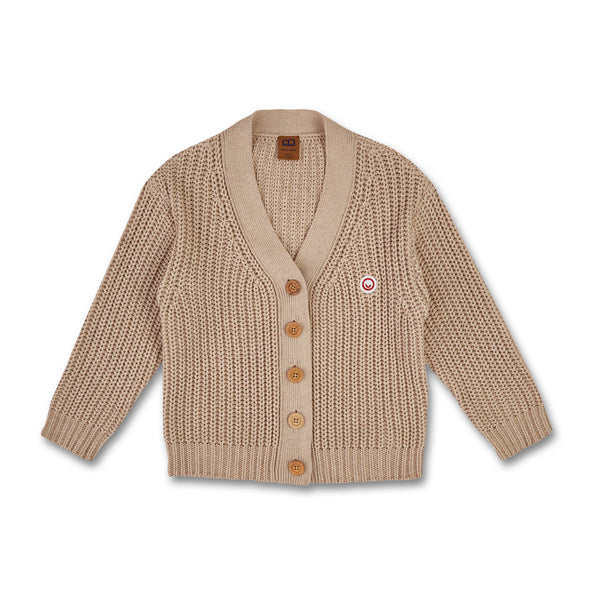 Kids Knit Cardigan Ecru (organic cotton)