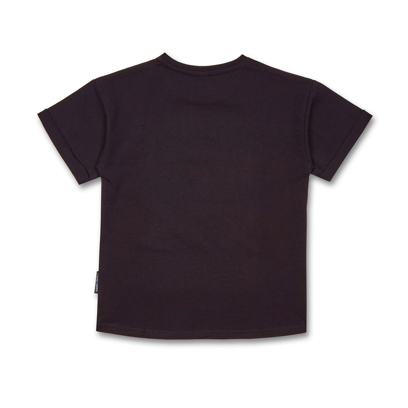 Kinder T-Shirt Bio-Baumwolle all colors are beautiful schwarz hinten