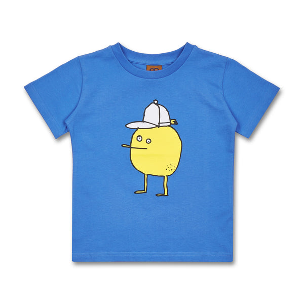 Kids Zitrone T-Shirt Blue (Organic Cotton)