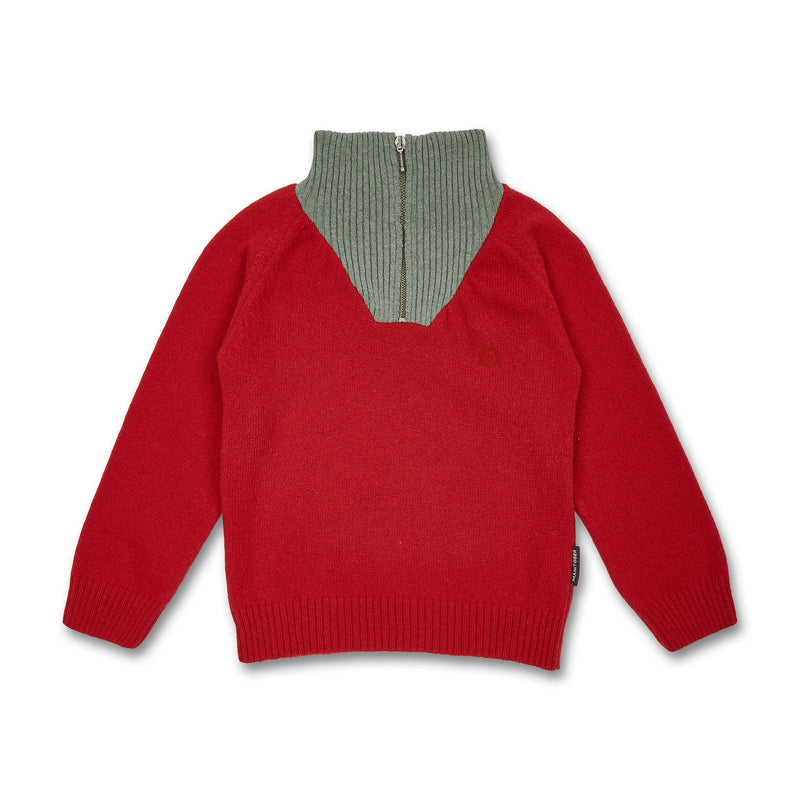 Kids Knit Troyer (recycled wool) - Manitober