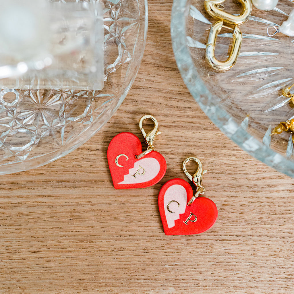 Best Friends Heart Tag Set