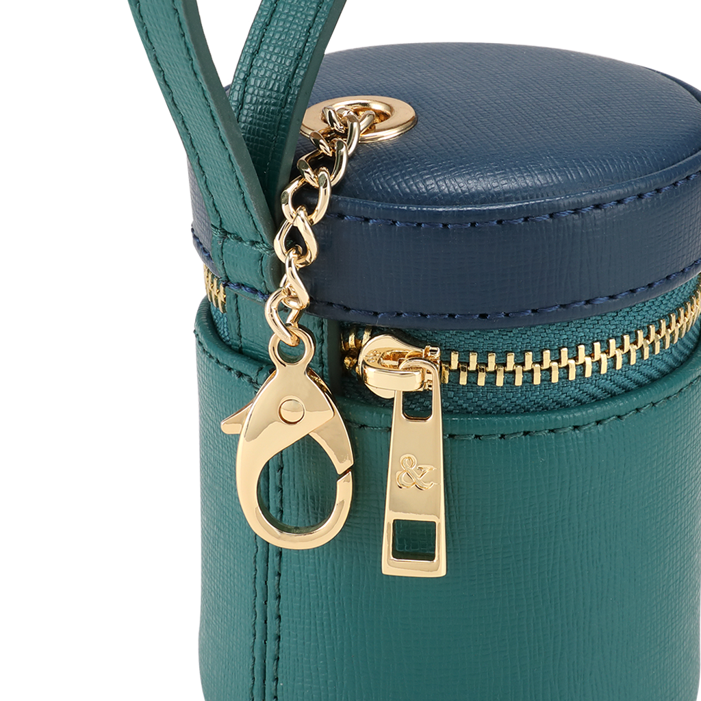 EMERALD GREEN - BLUE TREATS BAG
