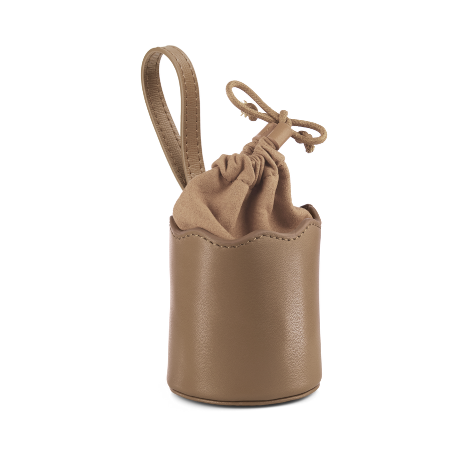 Wave Dog Treats Bag with Drawstring - Olive & Sand