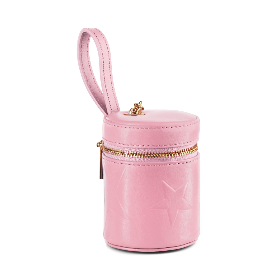 STAR DOG TREATS BAG WITH ZIP – PINK