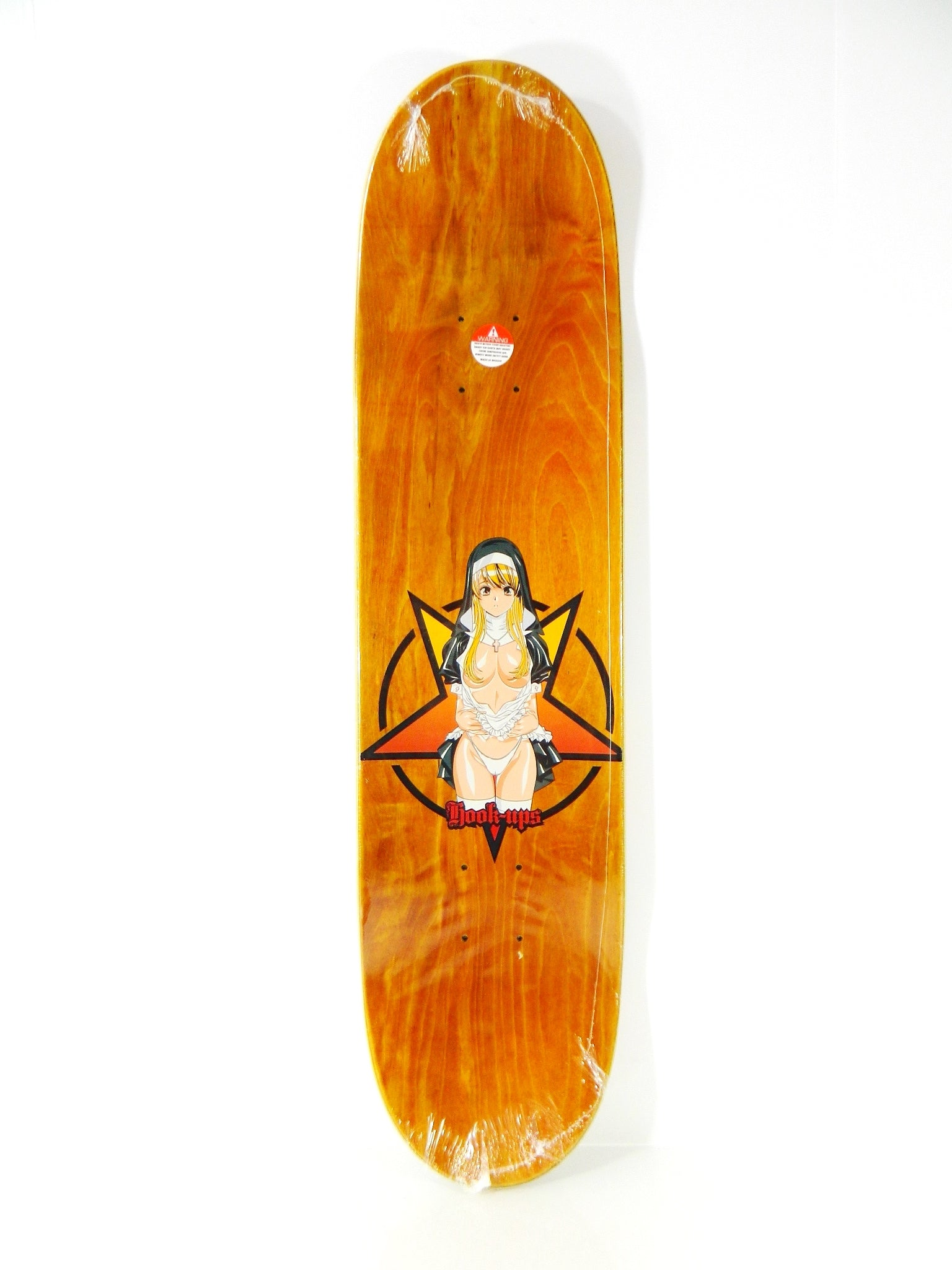 Hook-Ups Nun 8.0 x 31.75 Skateboard Deck