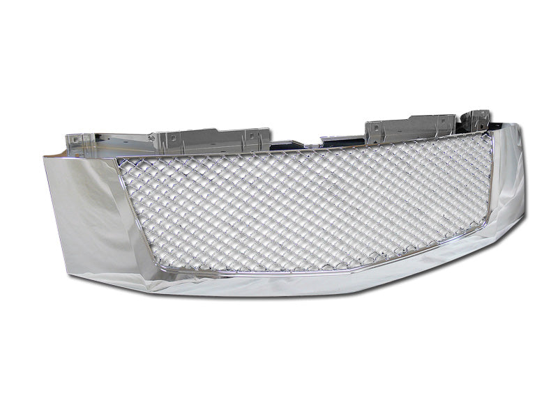Armordillo 2007-2014 Cadillac Escalade Mesh Grille Chrome - Armordillo USA by I3 Enterprise Inc.
