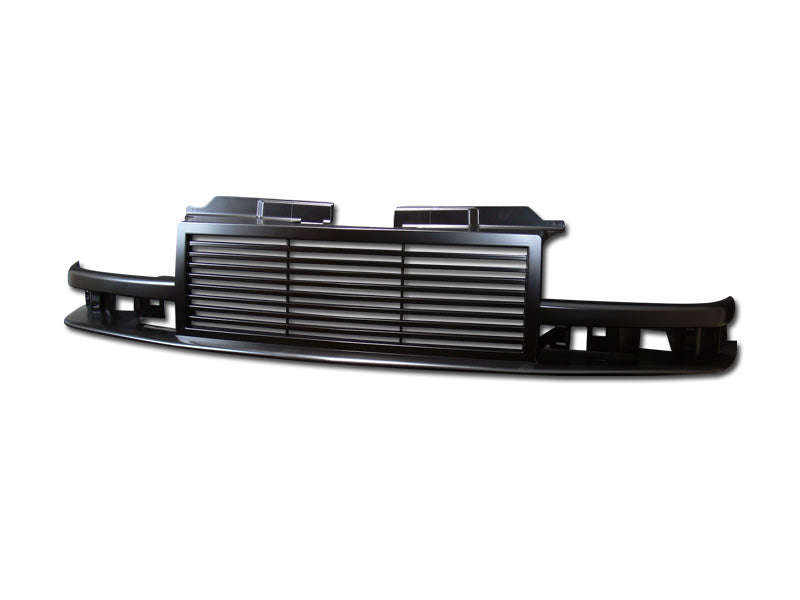 Armordillo 1998-2004 Chevy Blazer Horizontal Grille Gloss Black - Armordillo USA by I3 Enterprise Inc.