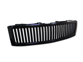 Armordillo 2007-2013 Chevy Silverado 1500 Vertical Grille Gloss Black