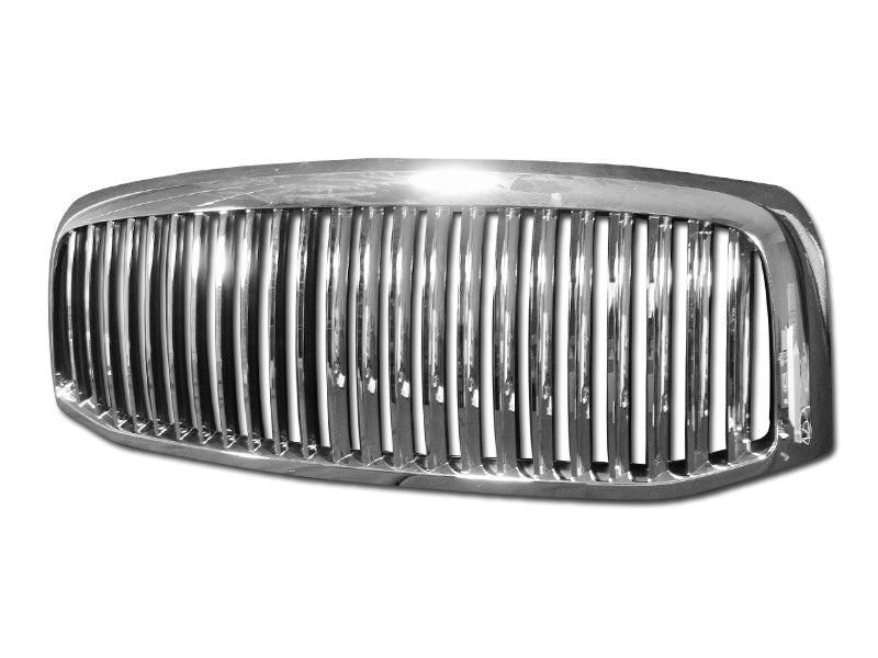 Armordillo 2006-2009 Dodge Ram 2500/3500 Vertical Grille Chrome - Armordillo USA by I3 Enterprise Inc.