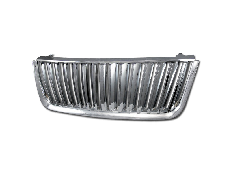 Armordillo 2003-2006 Ford Expedition Vertical Grille Chrome - Armordillo USA by I3 Enterprise Inc.