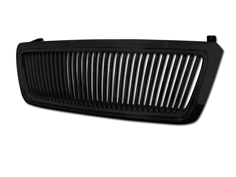 Armordillo 2004-2008 Ford F-150 Vertical Grille Gloss Black - Armordillo USA by I3 Enterprise Inc.