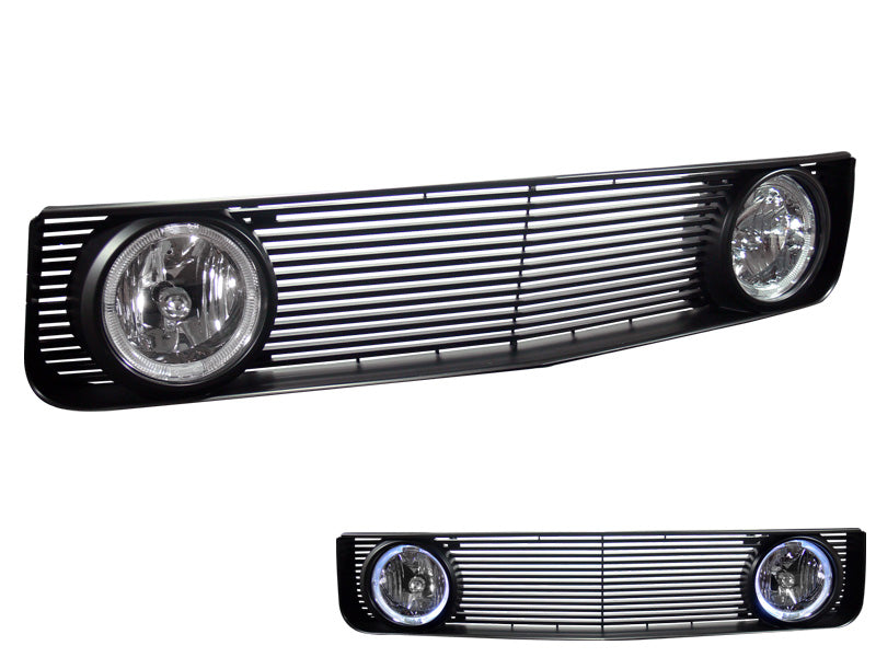 Armordillo 2005-2009 Ford Mustang Base Model Excl. GT OE - GT Style Grille Gloss Black - Armordillo USA by I3 Enterprise Inc.