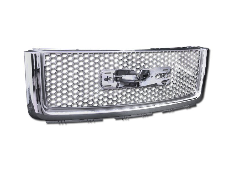 Armordillo 2007-2013 GMC Sierra 1500 OE - Denali Style Grille Chrome - Armordillo USA by I3 Enterprise Inc.