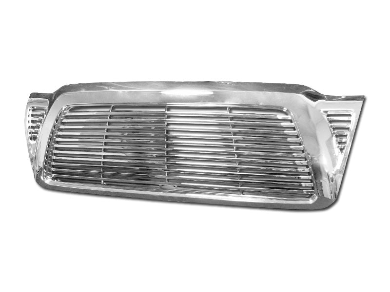 Armordillo 2005-2011 Toyota Tacoma Horizontal Grille Chrome - Armordillo USA by I3 Enterprise Inc.