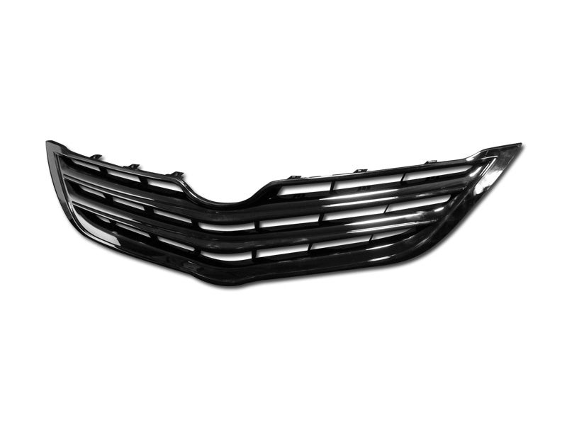 Armordillo 2006-2011 Toyota Yaris Sedan Horizontal Grille Gloss Black - Armordillo USA by I3 Enterprise Inc.