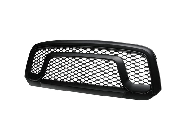 Armordillo 2013-2018 Dodge Ram 1500 OE Style Grille - Matte Black - Armordillo USA by I3 Enterprise Inc.