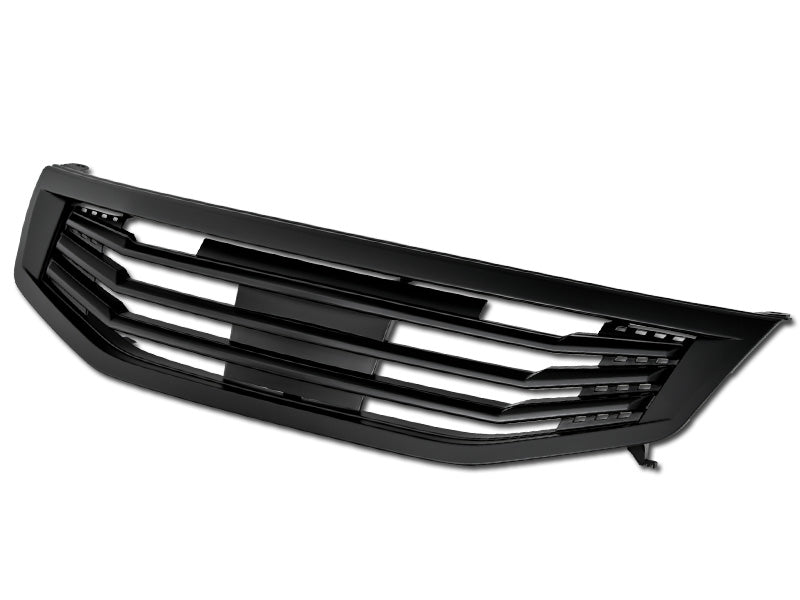 Armordillo 2011-2012 Honda Accord Sedan Horizontal Grille Matte Black - Armordillo USA by I3 Enterprise Inc.