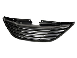 Armordillo 2010-2014 Hyundai Sonata Horizontal Grille Matte Black - Armordillo USA by I3 Enterprise Inc.