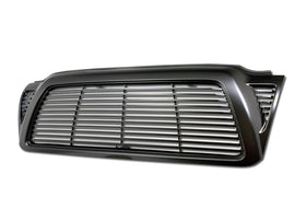 Armordillo 2005-2011 Toyota Tacoma Horizontal Grille Matte Black - Armordillo USA by I3 Enterprise Inc.