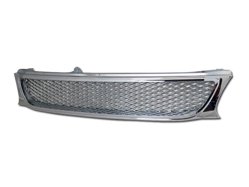 Armordillo 1995-1997 Toyota Tercel Mesh Grille Chrome - Armordillo USA by I3 Enterprise Inc.