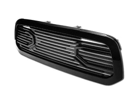 Armordillo 2013-2018 Dodge Ram 1500 OE-Style Grille Gloss Black - Armordillo USA by I3 Enterprise Inc.