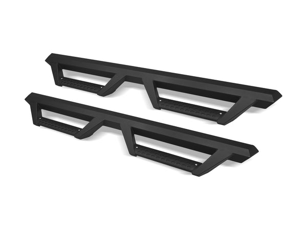 Armordillo 2007-2018 GMC Sierra 2500/3500 - Crew Cab AR Drop Step - Matte Black