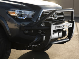 Armordillo 2016-2019 Toyota Tacoma AR Pre-Runner Guard - Matte Black - Armordillo USA by I3 Enterprise Inc.