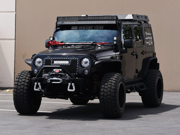 Armordillo 2007 2018 Jeep Wrangler Metal Fender Flares Armordillo Usa By I3 Enterprise Inc