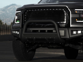 Armordillo 2007-2014 Cadillac Escalade MS Series Bull Bar - Matte Black