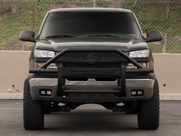 Armordillo 2003-2006 Chevy Silverado 1500 AR Pre-Runner Guard - Matte Black