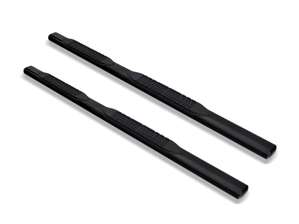 "Armordillo 2005-2011 Dodge Dakota - Quad Cab 4"" Oval Step Bar -Black - Armordillo USA by I3 Enterprise Inc."