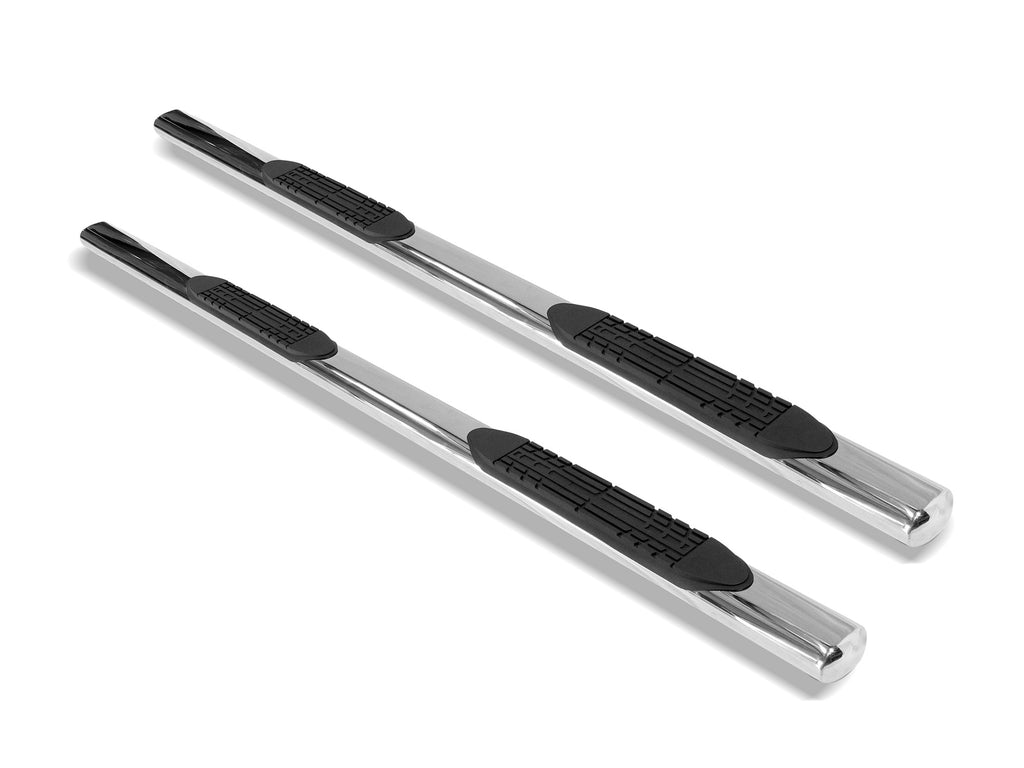 "Armordillo 1999-2013 Chevy Silverado - Crew Cab - Body Mount 4"" Oval Step Bar -Polished - Armordillo USA by I3 Enterprise Inc."