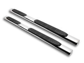 "Armordillo 2004-2019 Nissan Titan - King Cab 5"" Oval Step Bar - Polished"