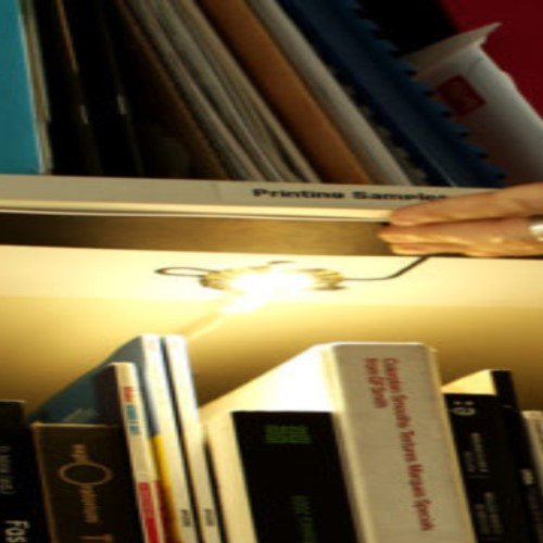 How to make a bookcase light with the Light Up Board