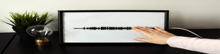 How to make an interactive sound wave print