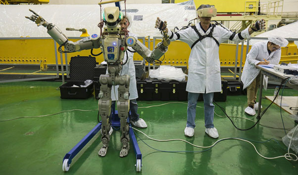 Soyuz Capsule to be Piloted by a Humanoid Robot