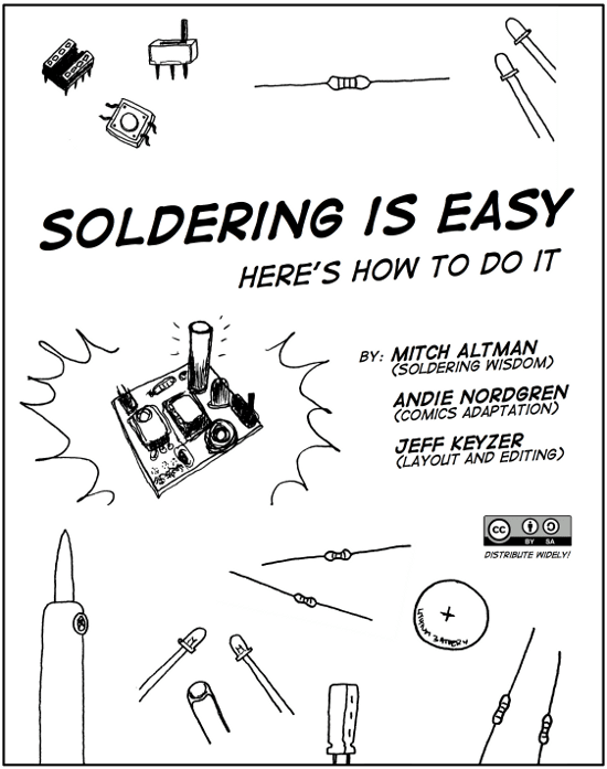 Soldering is Easy Tutorial Comic Book