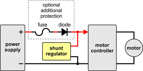 Shunt Regulator: Fine-Adjust LV 1.50 15W