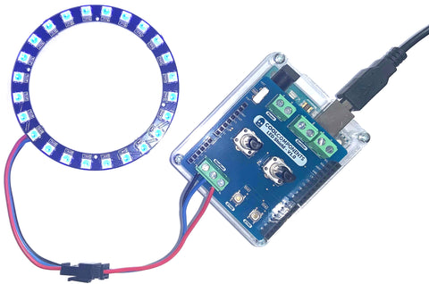 LED Shield - Compatible with Arduino Uno