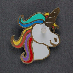 Unicorn Soldering Badge