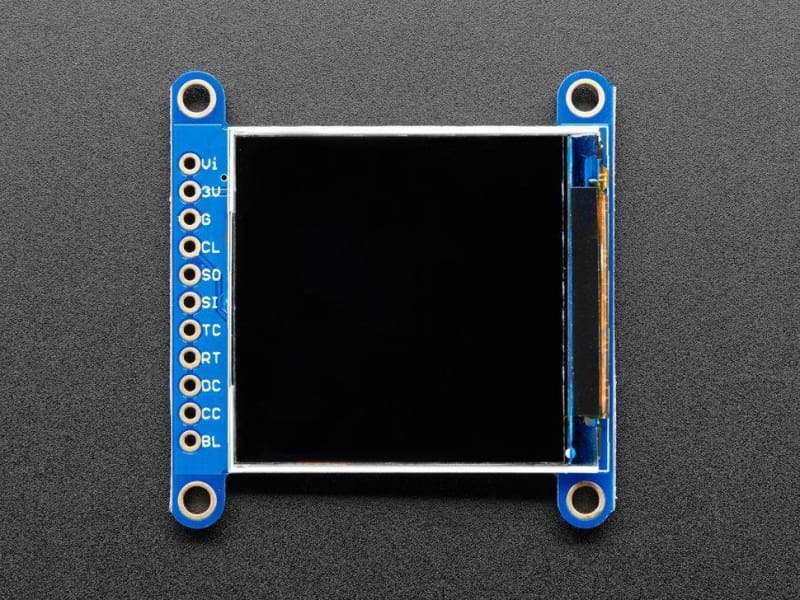 1.54 240X240 Wide Angle Tft Lcd Display With Microsd (St7789) (Id: 3787) - Lcd Displays
